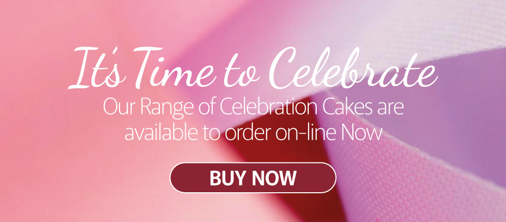 It's time to Celebrate. Buy cakes online now