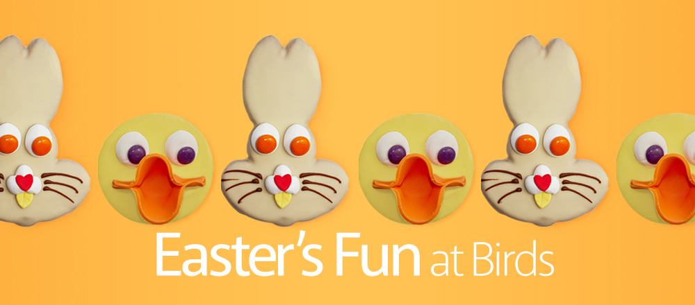Easter's fun at Birds