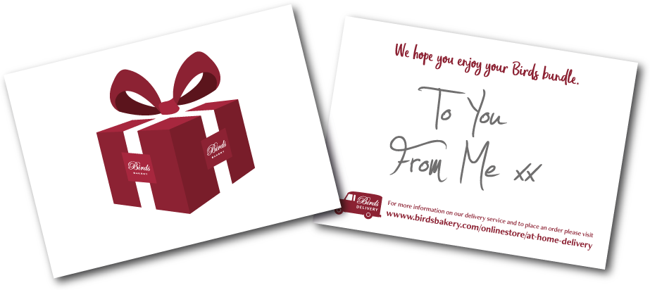 Personalised Message Card Image