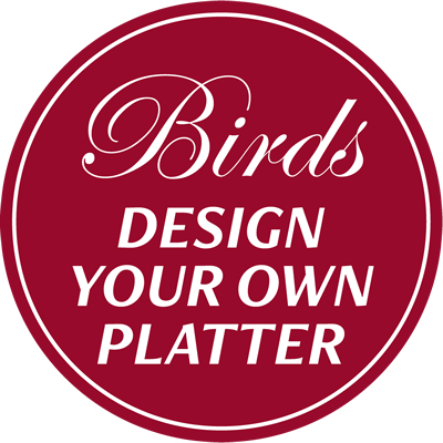Birds - Design your own platter