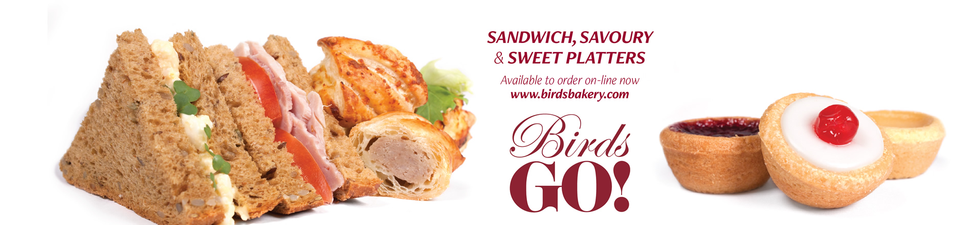 Sandwich, Savoury and Sweet Platters available to order online now