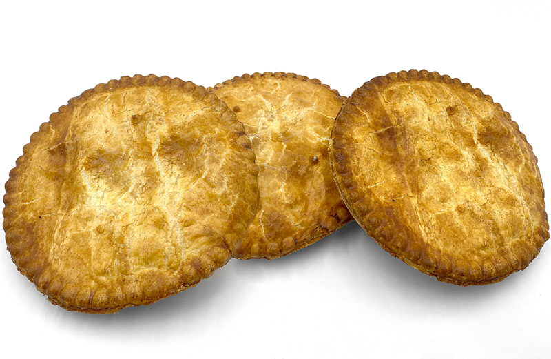 3 Large Meat Pie Pack Image