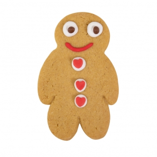 Gingerbread Man Valentines
