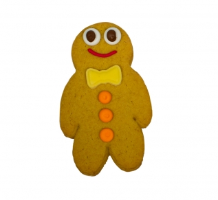 Gingerbread Person (With Bow or Tie)